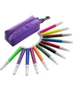 12 pcs Felt Tip Set with Zipper case
