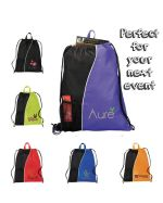 Alpha Custom Drawstring Backpack