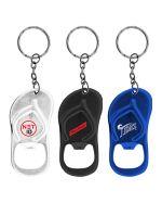 Bottle Opener Sandal Keychains