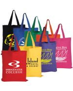 Branded Cotton Colour Tote Bags 140 GSM