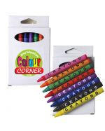 Branded Crayons and box set