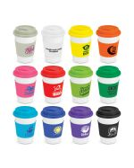 Ceramic Coffee Cups Logo Decorated
