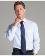 Checked Long Sleeve Customised Uniform Shirts