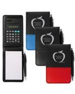 Custom Notepad Pen and Calculator Set