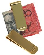 Engravable Brass Money Clips
