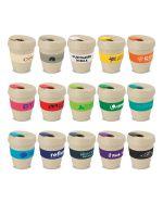 Environmental Logo Coffee Cups