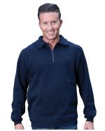 Half Zip Fleecy Promotional Sweater
