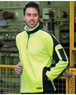High Vis Arm Panels Polar Sweater