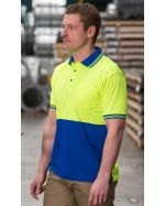 High Vis Safety Customized Polo