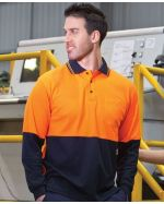 High Visibility Logo branded Polo Shirt