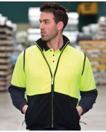 High Visibility Promotional Polar Vest