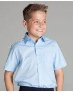 Kids Poplin Shirts SS