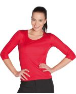 Ladies 3/4 Sleeve Slinky Tee Shirt
