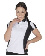 Ladies Cool Dry Spliced Promotional Polos