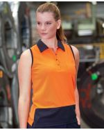 Ladies High Vis Comfort Polo Shirt