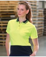 Ladies High Visibility Polo Shirt