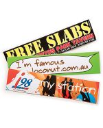 Large Printed Bumper Sticker 7.5x21cm