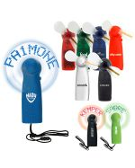 Light Up Name Electric Mini Fans