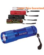 Logo Branded LED Metal Flashlight
