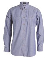 Long Sleeve Blue Custom Shirts