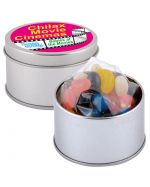 Mixed Jelly Beans in a Tin