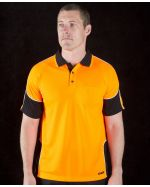 Panel Polo High Vis Short Sleeve