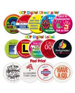 Plastic Promotional Badges