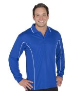 Podium Piped Branded Polos LS