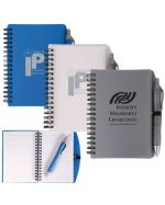 Printed Spiral Notepads and pen