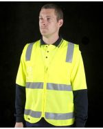 Promotional High Vis Zip Safety Vests