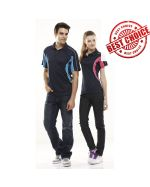 Raglan Colour Swirl Cooldry Polo