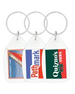 Round Ended Acrylic Keytags
