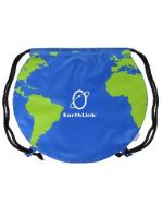 Screen Printed Globe Bag