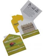 Seed Sticks in House Shape Promo Packs