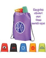 Tough Promotional Drawstring Bag
