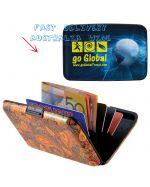 Unisex Metal Wallet